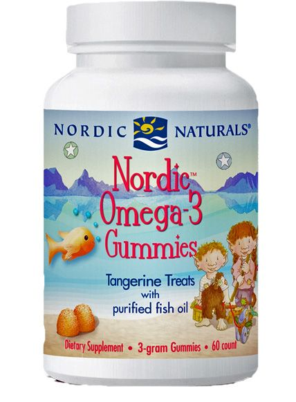 Nordic Naturals Nordic Omega-3 EPA DHA Fish Oil Gummies 60 ...
