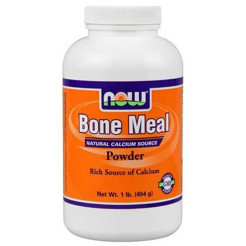 NOW Bone Meal Powder 16 Oz. | Bone & Joint Health
