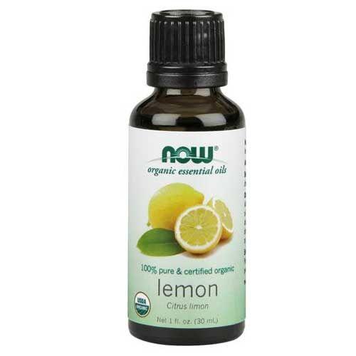 Now Foods Organic Lemon Oil 1 Oz