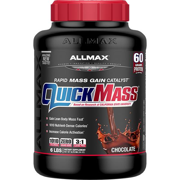 QuickMass Loaded Mass Weight Gainer | Allmax Nutrition