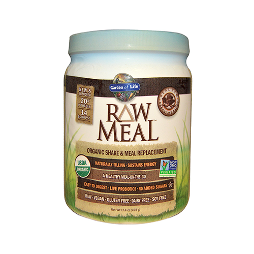 Garden Of Life Raw Meal 1 2 Lbs Original Cacao Vanilla Spiced Chai