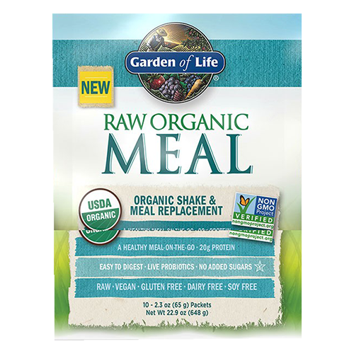 Garden Of Life Raw Meal Packets Organic