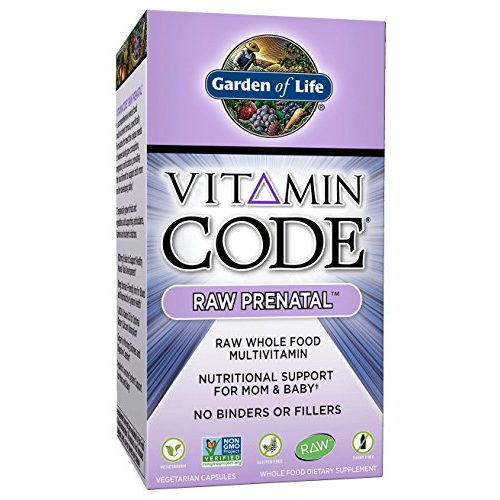 Vitamin code raw prenatal 90 caps for Garden of life vitamin code prenatal