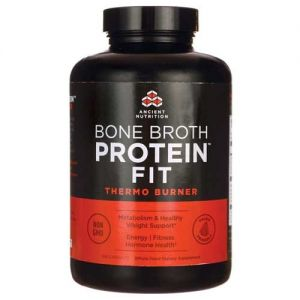 Ancient Nutrition Bone Broth Protein Fit Thermo Burner 180 Capsules