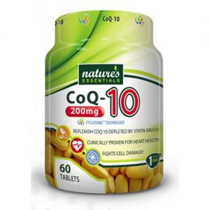 Nature's Essentials CO-Q10 200mg 60 Tablets