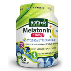 Nature's Essentials Melatonin 10mg 60 Tablets