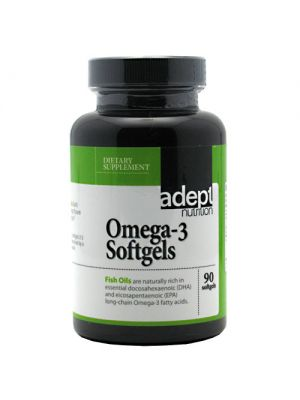 Adept Nutrition Omega-3 90 Softgels
