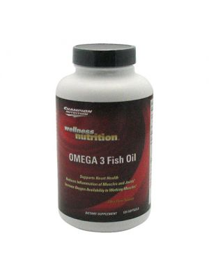 Champion Nutrition Wellness Nutrition OMEGA 3 Fish Oil 120 Softgels