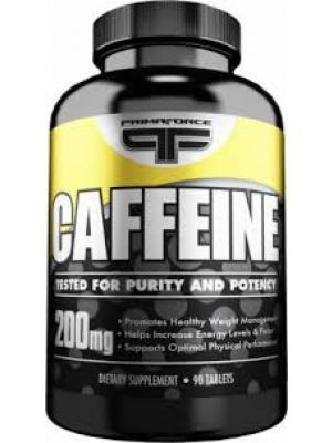 PrimaForce Caffeine 200mg 90 Tabs