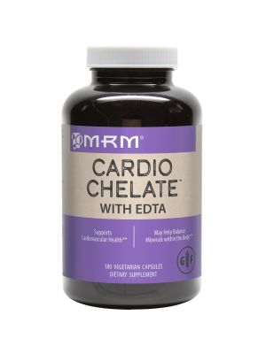 MRM Cardio Chelate with EDTA 650mg 180 VegeCaps Front