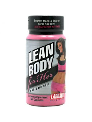 Labrada Nutrition Lean Body For Her Fat Burner  60 Capsules