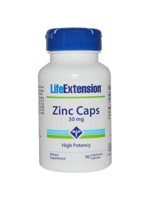 Life Extension Zinc 50 mg 90 Vegecaps