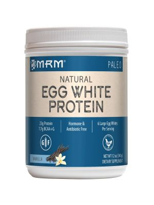 MRM All Natural Egg White 12 Oz front