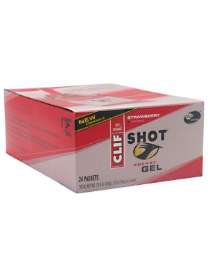 Clif Bar Shot Energy Gel 24-1.2 oz (34g
