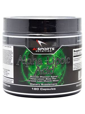 AI Sports Nutrition Alpha Lipoic Acid 180 Caps