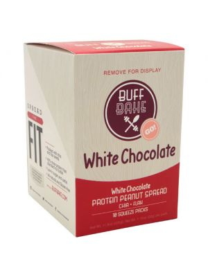 Buff Bake White Chocolate Protein Peanut Butter Spread 10 Pack