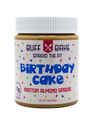 Buff Bake Birthday Cake Protein Almond Spread 13oz