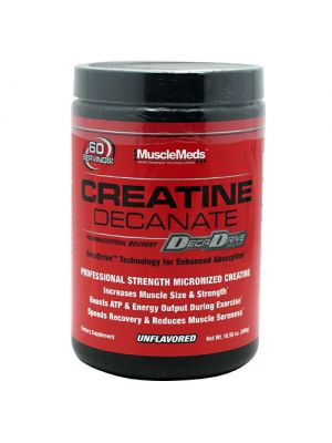 MuscleMeds Creatine Decanate Unflavored 300 Grams