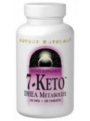 Source Naturals 7-Keto DHEA 50mg 60 Tablets