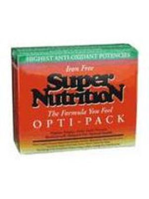 Super Nutrition Opti-Pack Iron Free 30 Pack