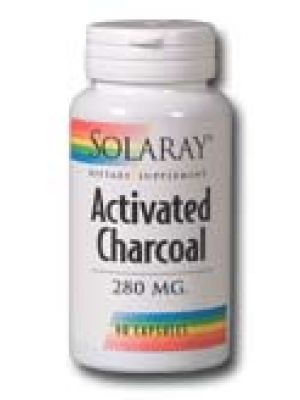 Solaray Activated Charcoal 280mg 90 Caps