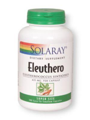 Solaray Ginseng Root Siberian (Eleuthero) 425mg 100 caps