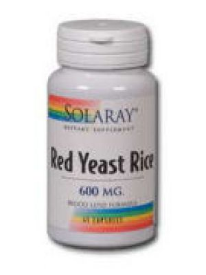 Solaray Red Yeast Rice 600mg 90 caps