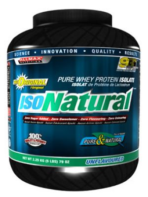 Allmax Nutrition IsoNatural Whey Protein Isolate 5 Lbs