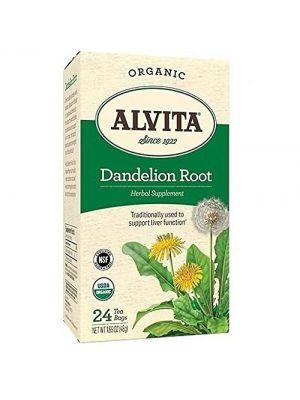 Alvita Dandelion Root Tea Organic 24 Bags