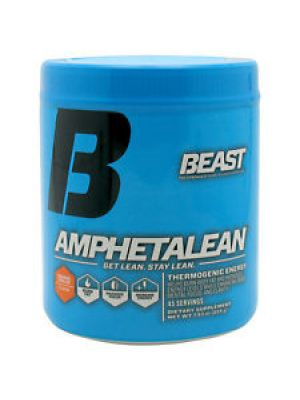 Beast Sports Nutrition Amphetalean Orange Cooler 45 Servings