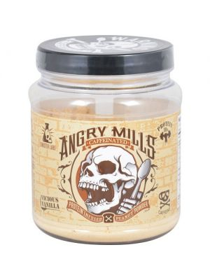 Angry Mills Protein Infused Peanut Powder Caffeinated Vicious Vanilla
