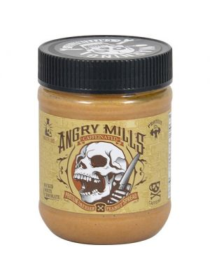 Angry Mills Caffeinated Protein Infused Peanut Spread Wicked White Chocolate