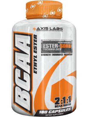 Axis Labs BCAA Ethyl Ester 180 Caps