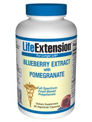 Life Extension Blueberry Extract with Pomegranate 60 Vegecaps