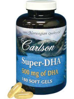 Carlson Super DHA 500mg 180 Gels