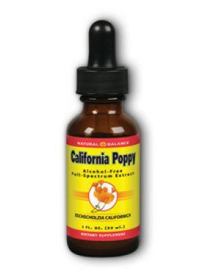 Natural Balance California Poppy Extract 1 Fl Oz