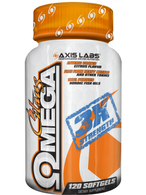 Axis Labs Citrus Omega  120 Softgels