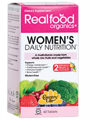 Country Life Realfood Organics Women's Daily Nutrition 120 Tabs