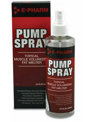 E-Pharm Pump Spray 8 Fl Oz