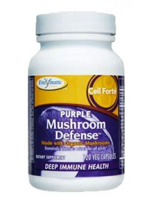 Enzymatic Therapy Cell Forte Purple Mushhroom Defense 120 Ultracaps
