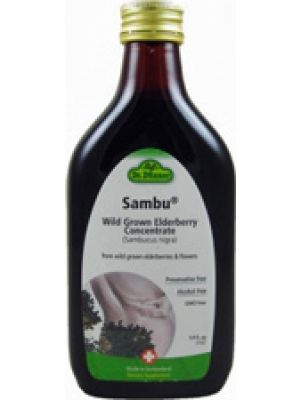 Flora (Udo's Choice) Dr. Dunner Sambu Wild Grown Elderberry Concentrate 5.9 Fl Oz