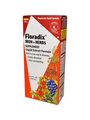 Flora Floradix Iron + Herbs 8.5 Fl Oz