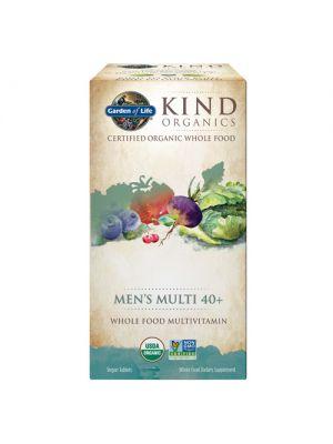 MyKind Organics Men's Multi 40+ Non-GMO 120 Tabs