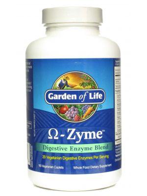 Garden of Life Omega-Zyme 180 Caplets