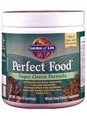 Garden of Life Perfect Food Super Green Formula 140 Grams