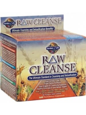 Garden of Life Raw Cleanse Fast-Acting 7 Day Triple Detox Formula