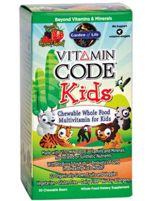Garden of Life Vitamin Code Kids 30 Chews