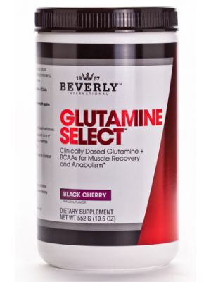 Beverly International Glutamine Select plus BCAAs Black Cherry 552g