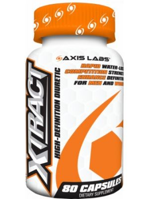 Axis Labs Xtract High-Definition Diuretic 80 Caps