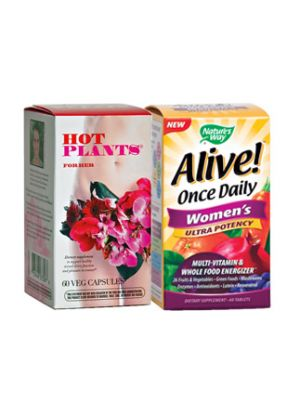 Hot Plants for Her + Alive 1 Daily Women